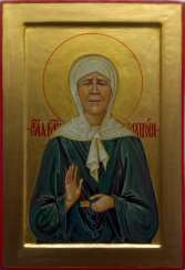 Icon Of St. Blessed Matrona Of Moscow
