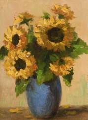 Small still life with sunflowers