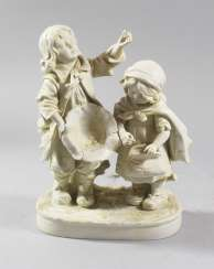 Porcelain group, 19. century