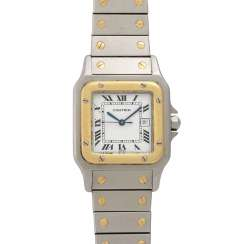 CARTIER Santos Vintage. Watch.