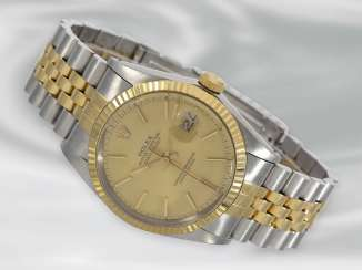 Wrist watch: men's Rolex Datejust in steel/Gold from the year 1986, Ref. 16013