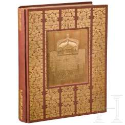 "Magnificent edition ""German Memorial Hall"" from Hitler's private library"