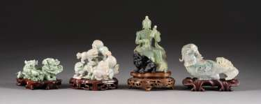FOUR FIGURAL REPRESENTATIONS China