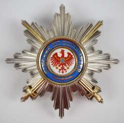 Prussia : Red Eagle Order, 1. Class with swords star.