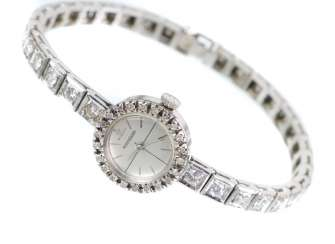 antique diamond watch Jaeger Le Coultre circa 1920