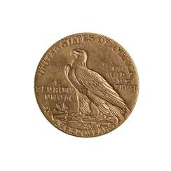 USA/GOLD - 5 Dollars 1910 Indian Head,