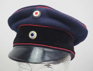 Bavaria: visor cap for officers of the field artillery.