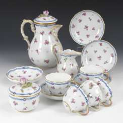 12 + 1 parts of a coffee service, MEISSEN
