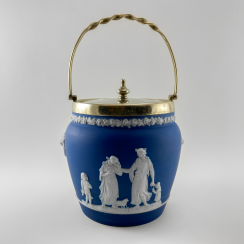 Biskvitnyi Wedgwood. Neo-classicism, England, biscuit porcelain, handmade. 1860-1891 years.