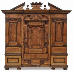Facade of the Cabinet. South German Renaissance Style, Mid-19th Century. Century