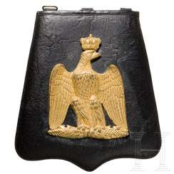 Saber pouch for officers of the Hussars, 2nd German Empire