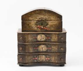 Miniature Top Chest Of Drawers