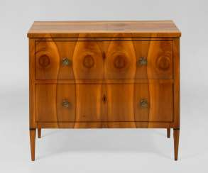 Biedermeier Chest Of Drawers.
