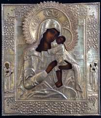 "The Icon ""Seeking Of The Lost Holy Mother Of God"". Moscow, 1895, 84 sample."