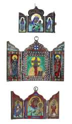 Russia Travel Icons Silver