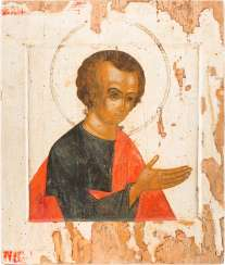 A LARGE ICON WITH ST. THOMAS