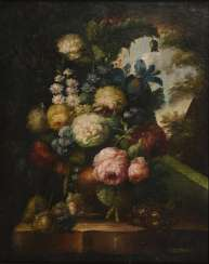 Flower still life in the style of the old masters