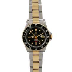 "Extremely rare and collectable ROLEX GMT-Master ""UAE Quraysh Hawk"", Ref. 1675. Men's watch. 1970s."