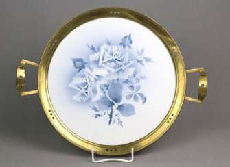 Art Nouveau cake platter around 1910