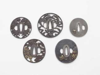 Japan, 19. Century . COLLECTION OF 50 TSUBA