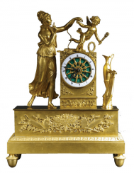 Mantel clock France, early 19th century
