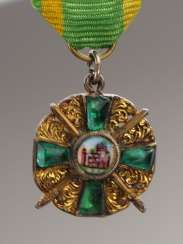 Baden : Grand of the order of the Zähringer lion, knights cross 1 Duke. Class with swords miniature.