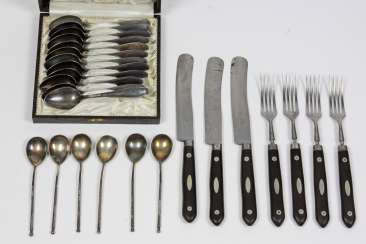Items, Cutlery items, around 1900