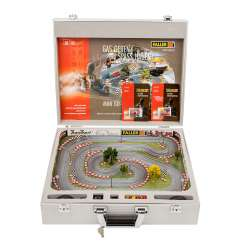FALLER mini go-kart racing track in a case, H0, rarity!