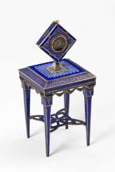 Viennese enamel: table with Miniature