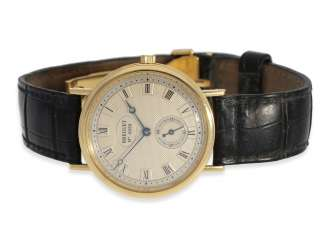 Watch: elegant, high quality men's watch of the Breguet, model Classique, reference 3910, No. B4938G