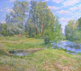 Summer Painting by Aleksandr Dubrovskyy