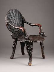 RARE GROTTEN CHAIR