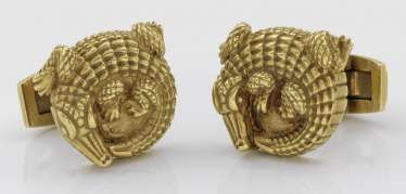 Pair of cufflinks, Barry KIESELSTEIN-Cord