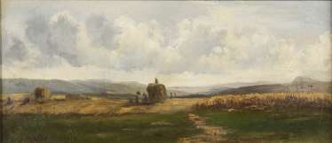 Small harvest landscape