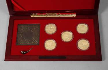 "Serie Gold-Yuan ""Coins of Invention and Discovery"""
