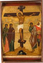 THE MUSEUM'S ICON WITH THE CRUCIFIXION OF CHRIST