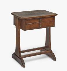 Sewing table, Richard Riemerschmid, 1905, manufactured by Dresdener Werkstätten, Dresden