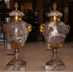 Bronze pair Cups, 2nd floor. Of the twentieth century.