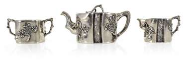 Teapot, Sugar Bowl & Milk-