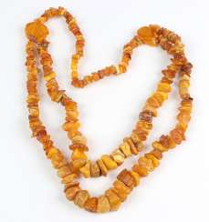 large amber necklace