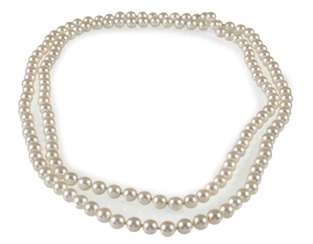 Beautiful Akoya Cultured Pearl Necklace