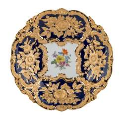 MEISSEN sumptuous bowl, 20th century.