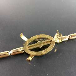 Watch claw / bracelet for pocket watch: Gold Doublée, very nice.