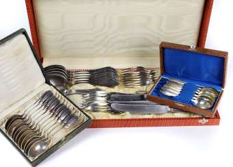 Wellner cutlery for 6 people among others