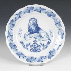 Regiment plate, MEISSEN