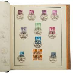 Germany to 1945/60 - Beautifully-designed collection of
