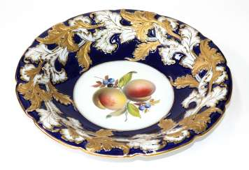 Meissen splendid fruit decor