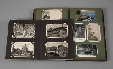 Two Post Card Albums