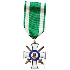Order Of Albrecht - Knight's Cross 2. Class with swords