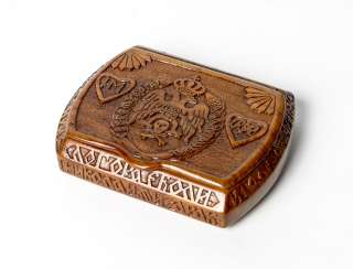 Box with carving